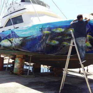 Rotulación barcos