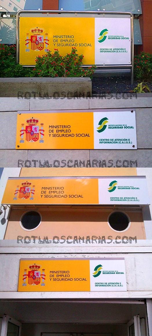 Carteles seguridad Social