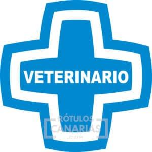 Cruz Azul Veterinario - Rotulos Canarias
