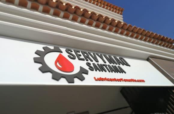 Letras Corpóreas en Tenerife