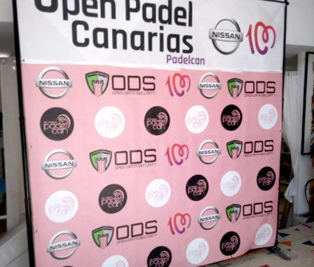Photocall Canarias - Open Padel Canarias