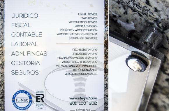 Placa Corporativa Lanzarote