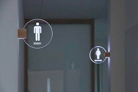 Señalética para baños en Tenerife (3)