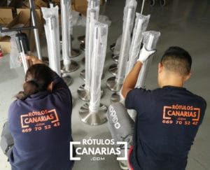 poste separador canarias