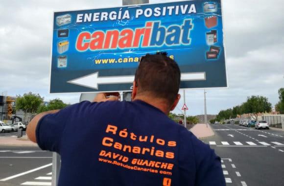 Letrero Publicitario - Canaribat