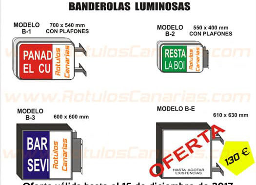 oferta carteles luminosos