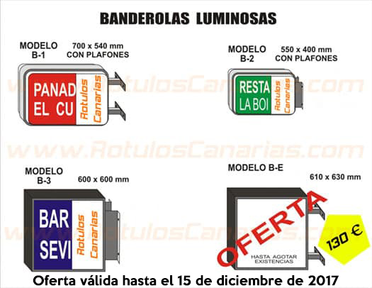 Tenerife archivos r tulos canarias letreros luminosos - Ofertas canarias enero ...